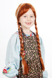 Frozen Child Snow Princess Anna Wig