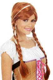 Frozen Snow Princess Anna Wig