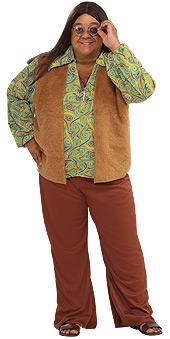 Full Figure 60s Groovy Guy Costume
