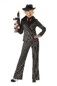 Gangster Lady Costume