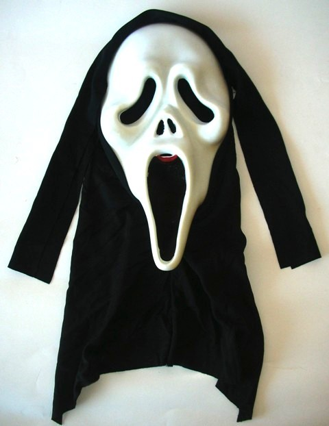 Ghost Face Mask with shroud Classic