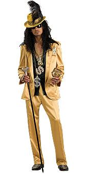 Gold Hustlah Costume