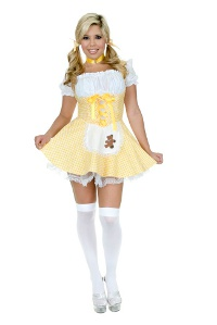 Goldee Locks with petticoat Costume