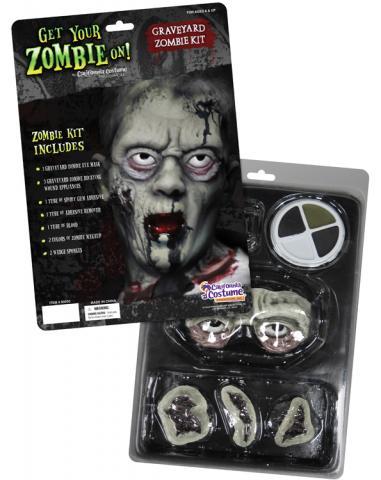 Graveyard Zombie makeup kit