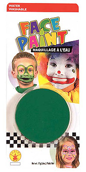 Green Face paint Pod