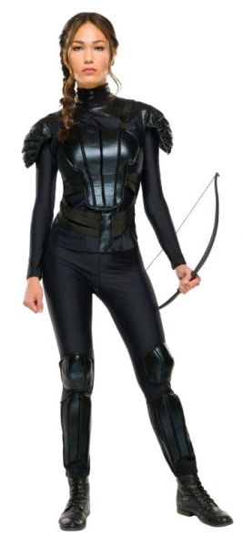 Hunger Games Deluxe Katniss Rebel Costume