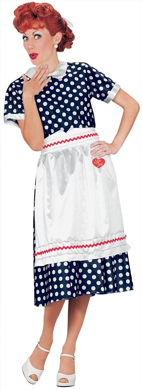 I Love Lucy Polka Dot Dress Costume