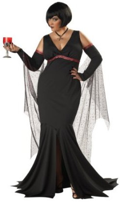 Immortal Seductress Plus Size Costume