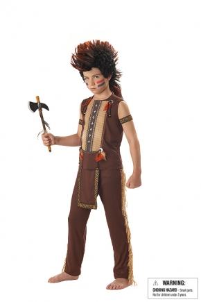 Indian Warrior Child Costume