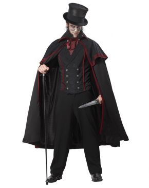 Jack the Ripper Victorian Horror Adult Costume