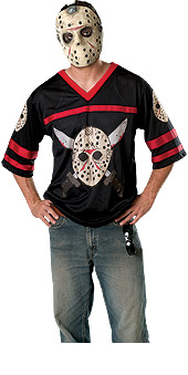 Jason Hockey Jersey and Mask