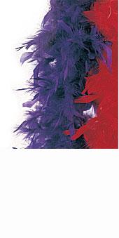 Jumbo Turkey Boa Purple
