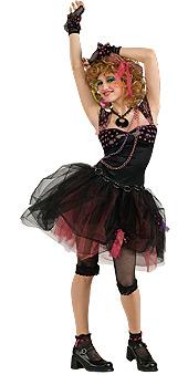 Junior 80s Diva Costume