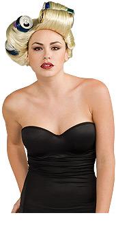 Lady Gaga Cans wig