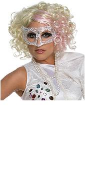 Lady Gaga Curly Wig
