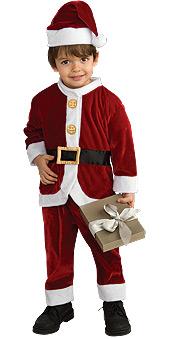 Lil Santa Child Costume