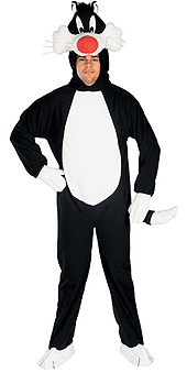 Looney Tunes Adult Sylvester Costume