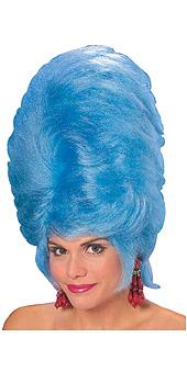 Marge Blue Beehive Wig