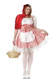 Miss Riding Hood Plus Size Costume