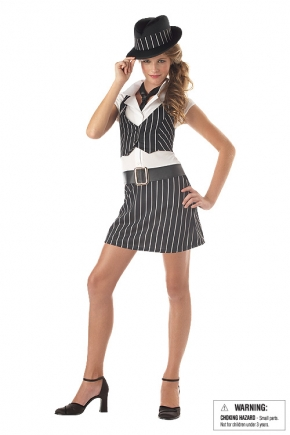 Mobsta Girl Tween Costume