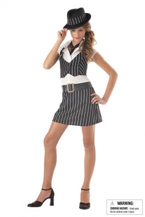 Mobsta Girl Tween Costume