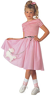 Nifty Fifties Deluxe Child Costume