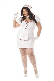 Nurse Natasha Plus Size Costume