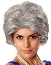 Old Lady Grey Nanna Wig