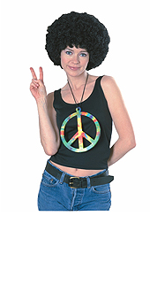 Oversized Peace Pendant