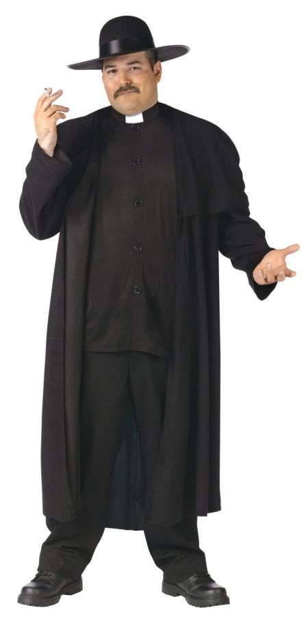 Piazza Priest Costume