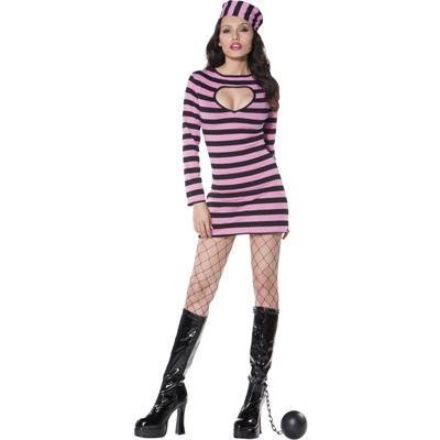 Pink Convict Costume