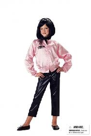 Pink Ladies Jacket Child Costume