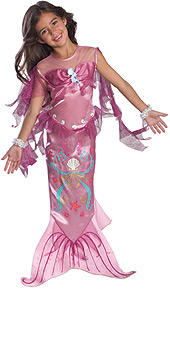 Pink Mermaid Child Costume