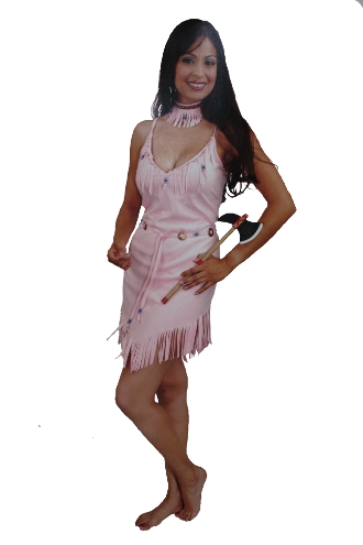 Pink Pocahontas Costume