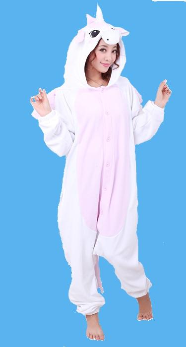 Pink Unicorn Onesie Costume