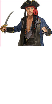 Pirate Hat with Dreadlocks