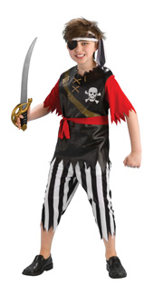 Pirate King Child Costume