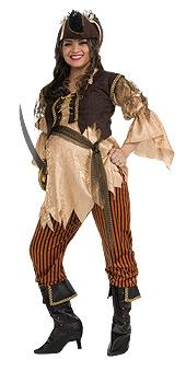 Pirate Queen Maternity Costume
