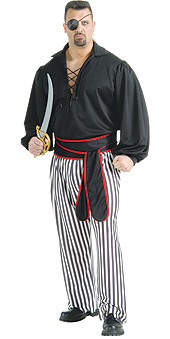 Plus Size Buccaneer Costume