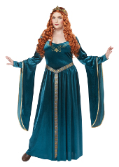 Plus Size Lady Guinevere Costume