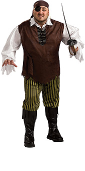 Plus Size Swashbuckler Costume