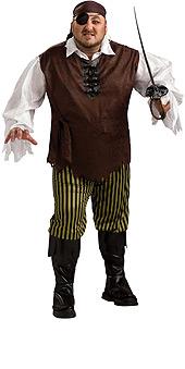 Plus Size Swashbuckler Costume