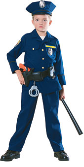 Police Officer Deluxe Child Costume