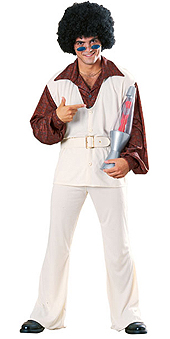 Polyester Pete 70s Disco Costume
