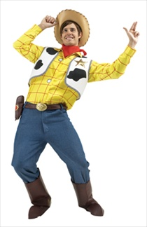 Premium Toy Story Woody Adult Costume