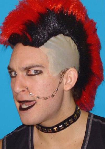 Punk Choker with studs