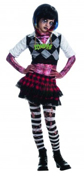 Punk Rocker Zombette Costume