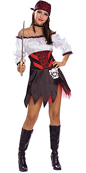 Punky Pirate Costume
