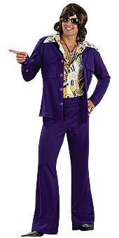 Purple Leisure Suit Costume