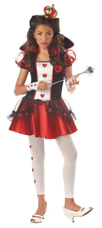 Queen of Hearts Tween Costume
